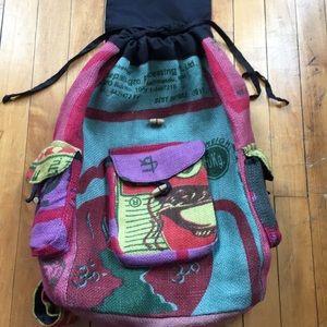 Handbags - Multicolor Rice Bag Backpack